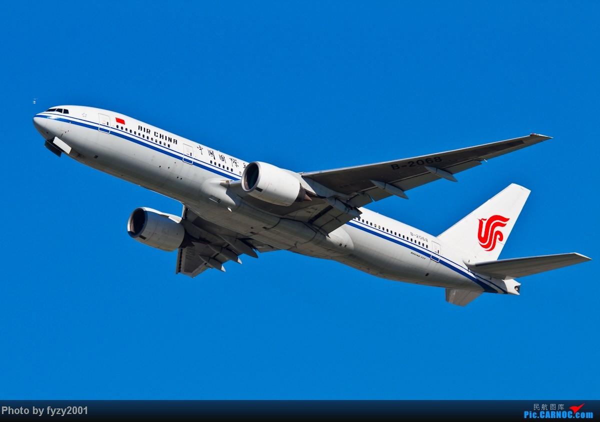[原创][无锡西站]蓝天白云,SHA半日游(各种起飞,各种穿) BOEING 777-200 B-2068 中国上海虹桥机场