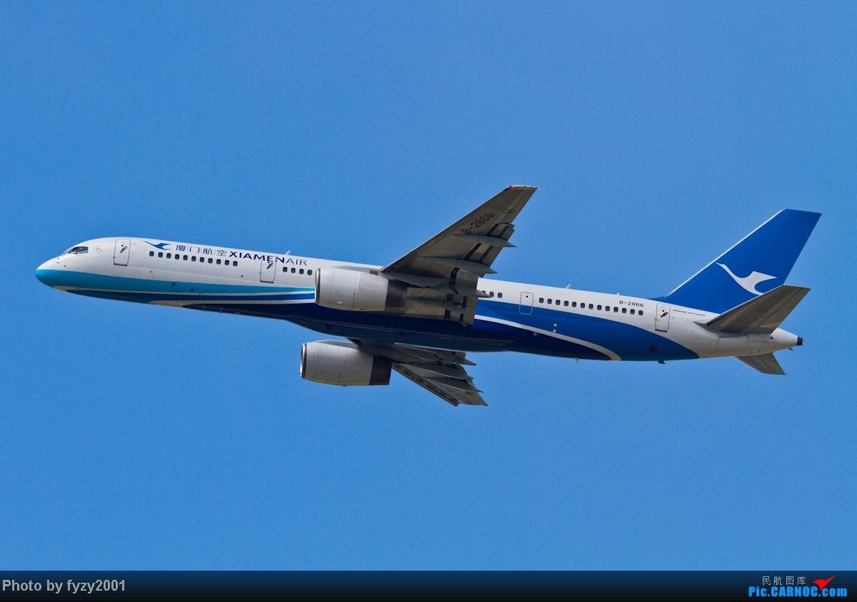 Re:[原创][无锡西站]蓝天白云,SHA半日游(各种起飞,各种穿) BOEING 757-200 B-2866 中国上海虹桥机场