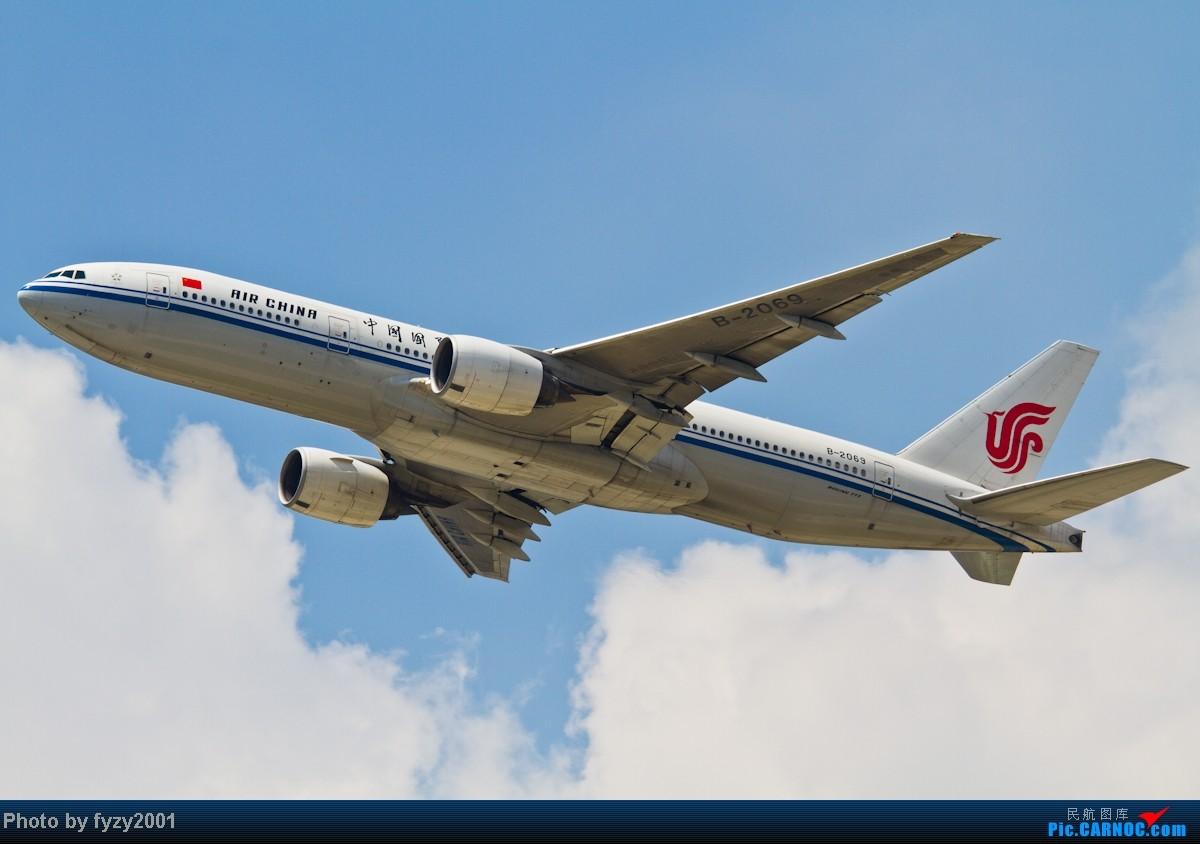 Re:[原创][无锡西站]蓝天白云,SHA半日游(各种起飞,各种穿) BOEING 777-200 B-2069 中国上海虹桥机场