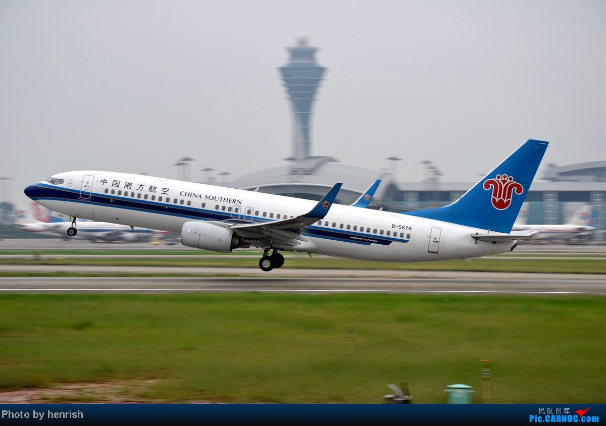 Re:[原创]16AUG,与民哥,老徐于CAN西跑道打飞机,那些阴天里的激情!【广东青少年拍机小队】【广州,你好!】 BOEING 737-800 B-5678 中国广州白云机场