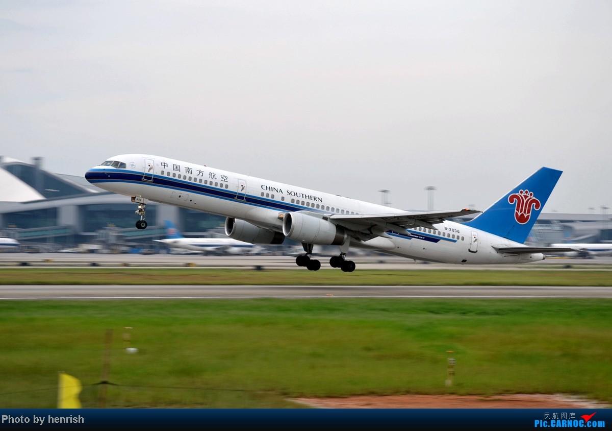 Re:[原创]16AUG,与民哥,老徐于CAN西跑道打飞机,那些阴天里的激情!【广东青少年拍机小队】【广州,你好!】 BOEING 757-200 B-2838 中国广州白云机场