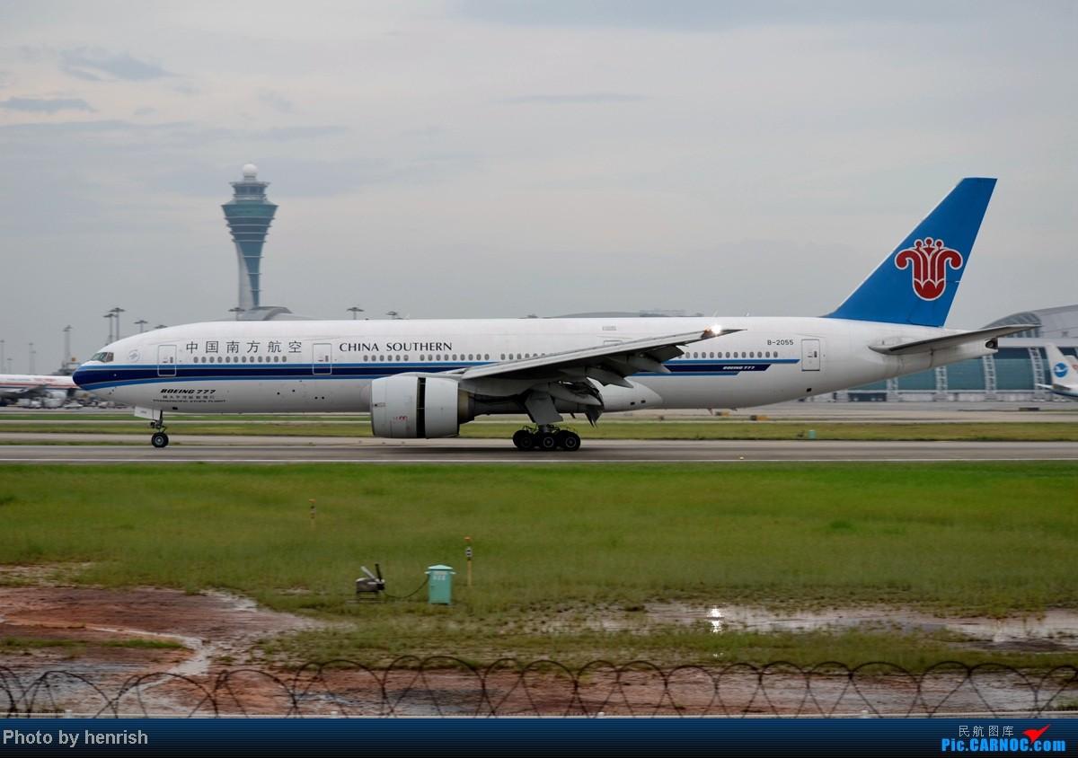 Re:[原创]16AUG,与民哥,老徐于CAN西跑道打飞机,那些阴天里的激情!【广东青少年拍机小队】【广州,你好!】 BOEING 777-200 B-2055 中国广州白云机场