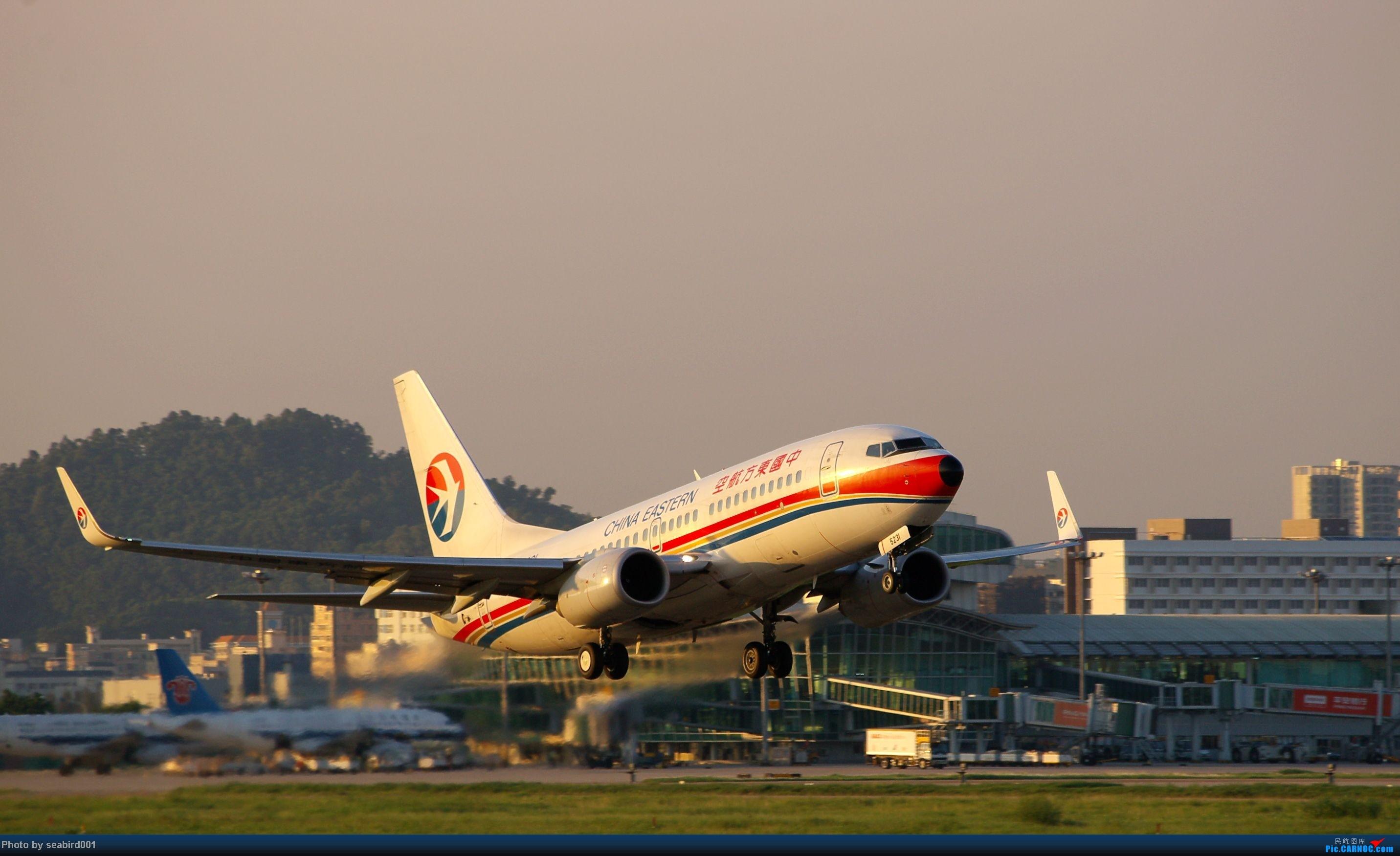 (深圳飞友会)一天一图。 BOEING 737-700 B-5231 中国深圳宝安机场