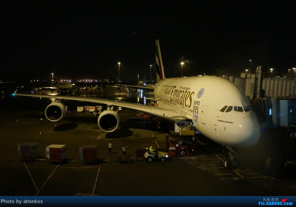 Re:[原创]新人第二贴 阿联酋A380,沿泰囧路线感受泰国风情 A380-800  中国香港赤鱲角国际机场