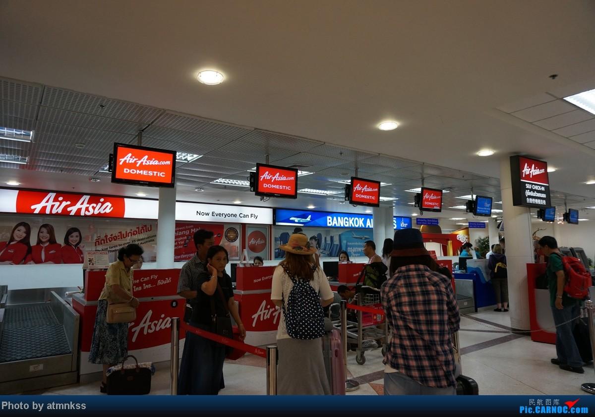 Re:[原创]新人第二贴 阿联酋A380,沿泰囧路线感受泰国风情    泰国清迈机场
