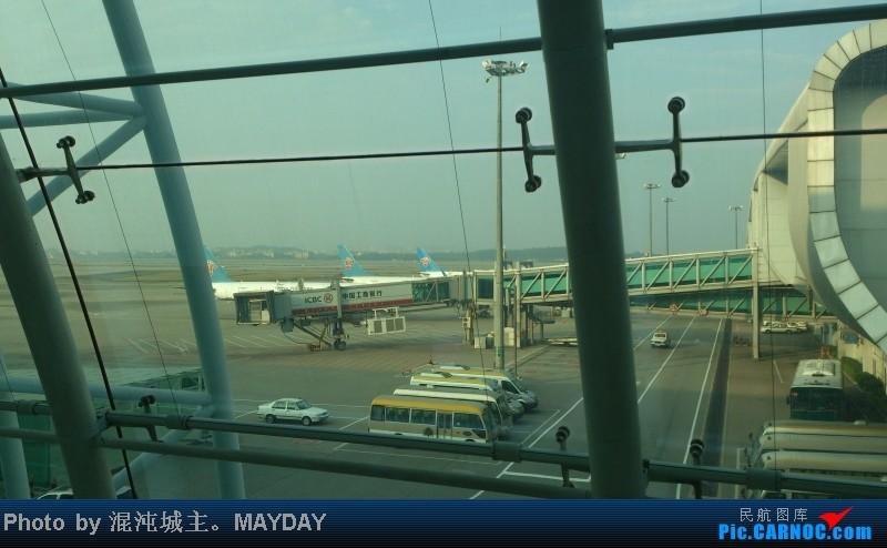 Re:[原创]这次百分百纯正混沌原创。桂林之旅。风景多图。(新手第一次发游记)(混沌)    中国广州白云机场