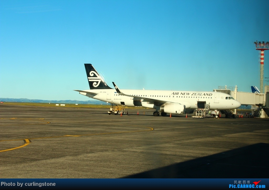 Re:[原创]【长春飞友会】抓住冬天的尾巴 飞向南方 飞向内陆 纽航支线客机终极体验 PS:Это моему дорогому брату Петру AIRBUS A320-200 ZK-OXA 新西兰奥克兰机场