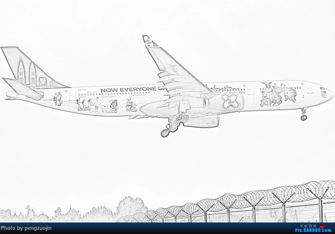[原创]【成都飞友会】悍马送上QR+KL+D7的不同感覺 AIRBUS A330-300 9M-XXF CTU