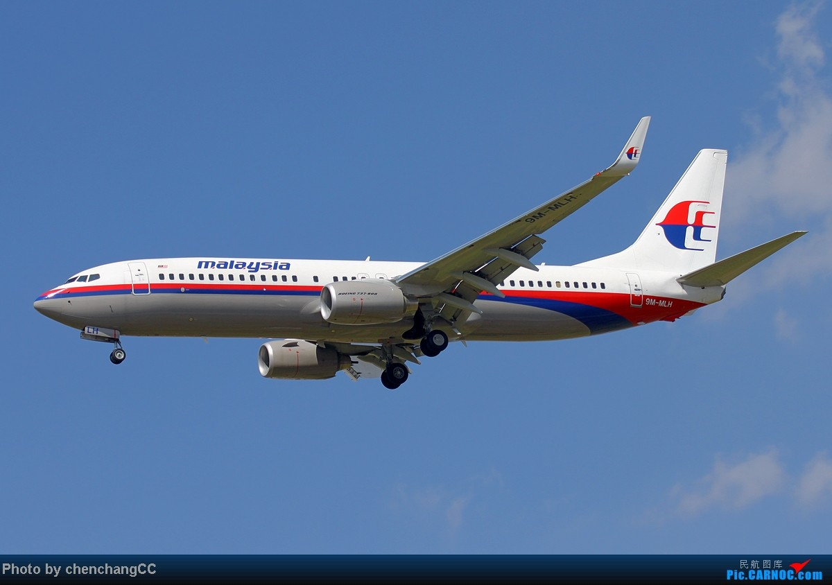 Re:[原创]【chenchangCC】巫家坝的天还是比长水蓝啊 BOEING 737-800 9M-MLH 中国昆明巫家坝机场