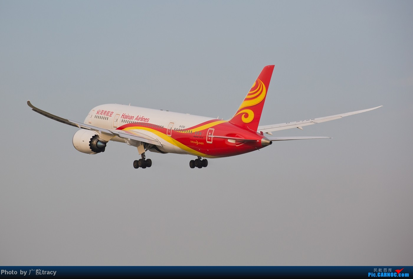 Re:[原创]★ ★ ★ ★ ★目前已经拍到了9家航空公司的波音787梦想客机★ ★ ★ ★ ★ BOEING 787 B-2722 中国北京首都机场