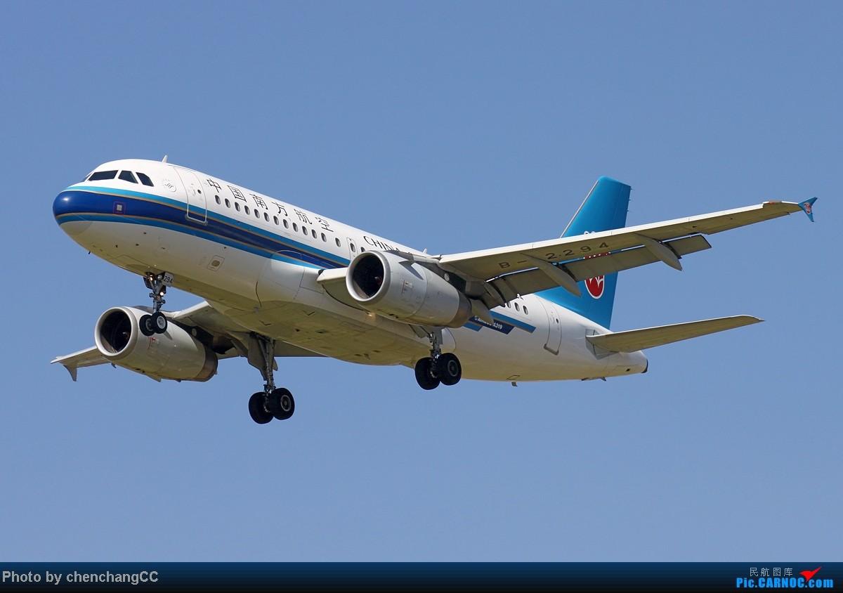 [原创]【chenchangCC】发图要积极,跑道21号,继续进近! AIRBUS A319-100 B-2294 中国昆明巫家坝机场