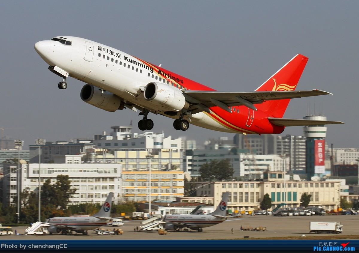 Re:[原创]【chenchangCC】图不能断了,继续巫家坝起飞 BOEING 737-700 B-2678 中国昆明巫家坝机场