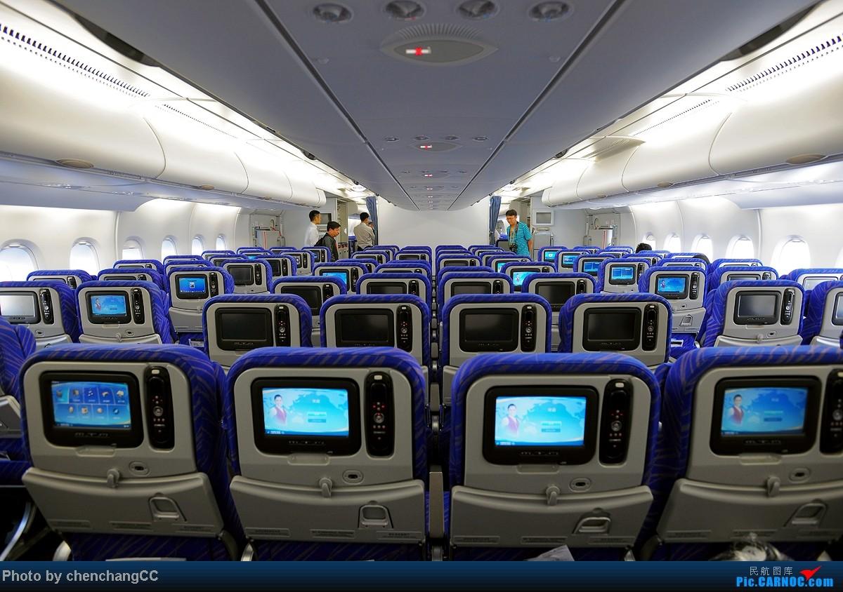 Re:[求助]南航A380经济舱,上下层靠窗位置是否都有储物箱?回答者奖励飞机5架,有照片奖励15架,有一层经济舱第一排照片20架 AIRBUS A380 B-6138 中国昆明长水机场