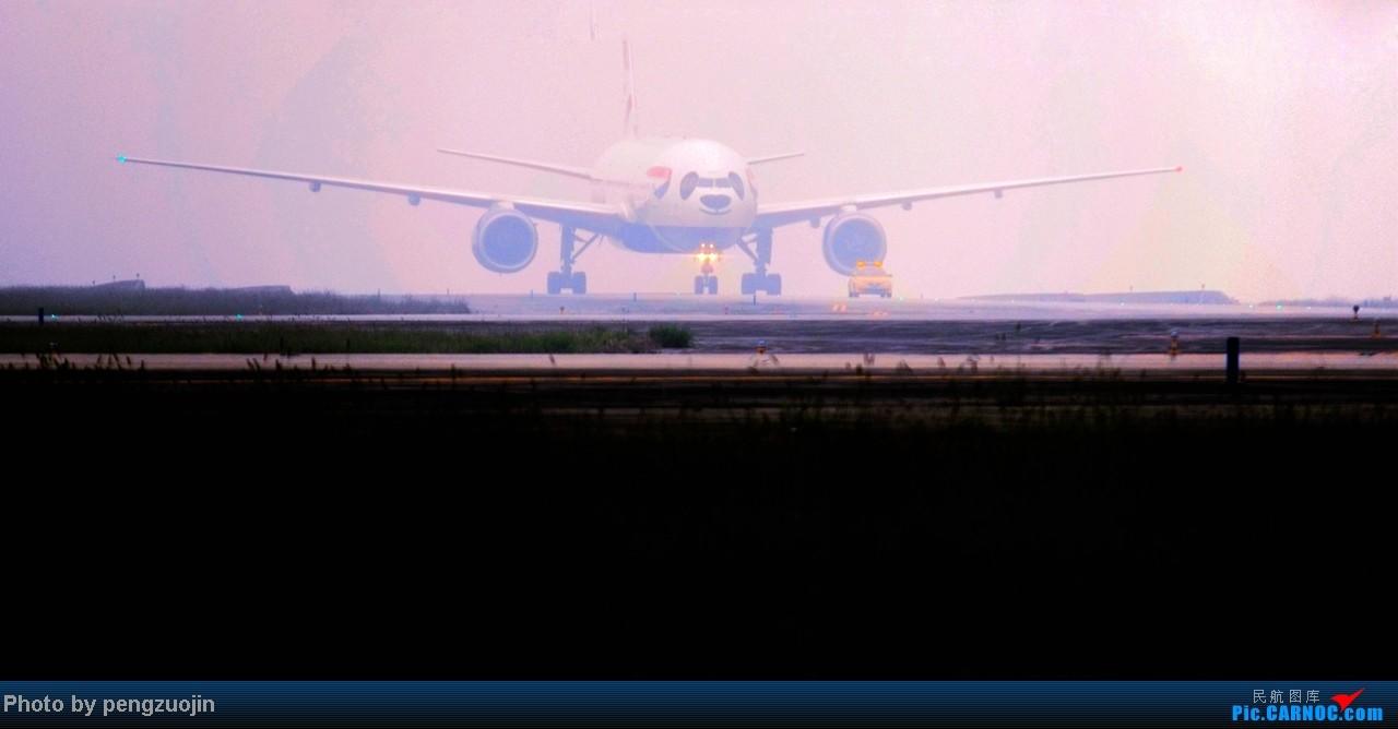 Re:[原创]【成都飞友会】悍马送上CTU英航首航熊貓机 BOEING 777-200 G-YMMH CTU