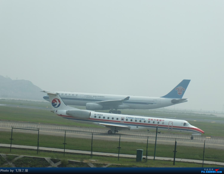 Re:[原创]CKG拍机之(中秋小长假后重庆江北国际机场平淡的一天) ERJ-145 B-3053 重庆江北国际机场