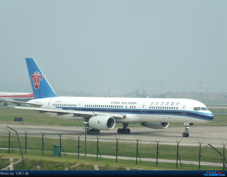 Re:[原创]CKG拍机之(中秋小长假后重庆江北国际机场平淡的一天) BOEING 757-200 B-2825 重庆江北国际机场
