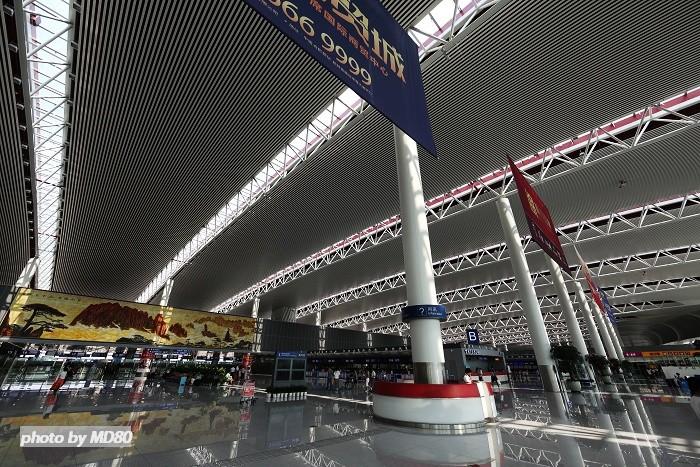 >>[原创]专程去看合肥新桥机场