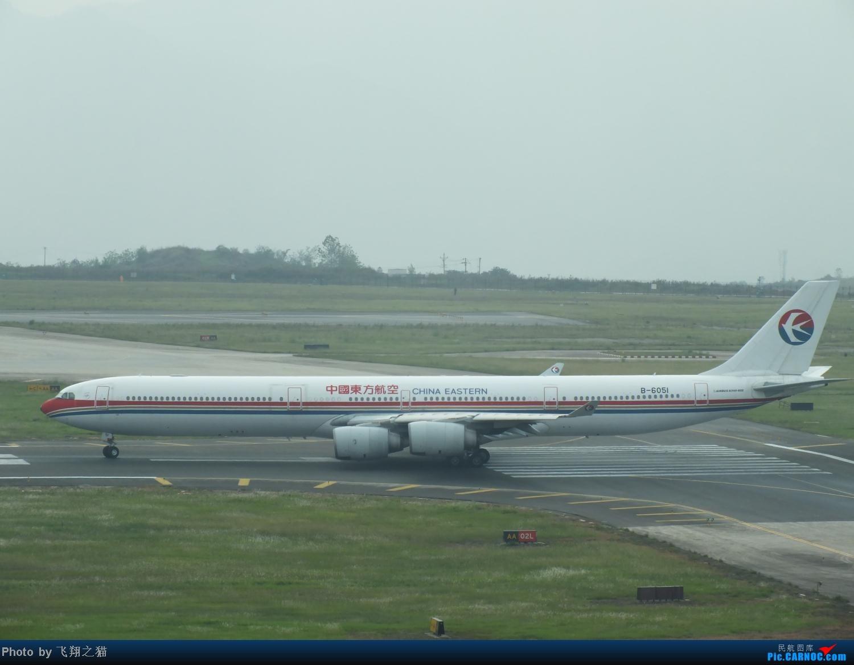 Re:[原创]CKG今天上午就有五架宽体+亚联公务机+海航兰花号=过瘾 AIRBUS A340-600 B-6051 重庆江北国际机场