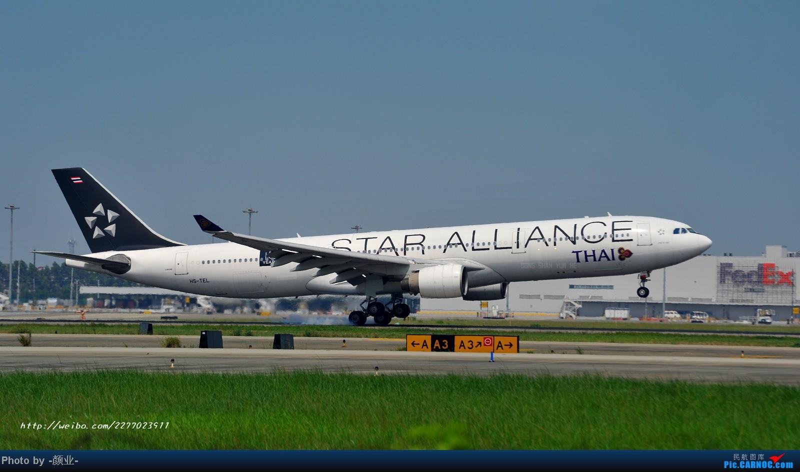 Re:[原创]我的打灰机心情[广州] AIRBUS A330-200 HS-TEL 中国广州白云机场