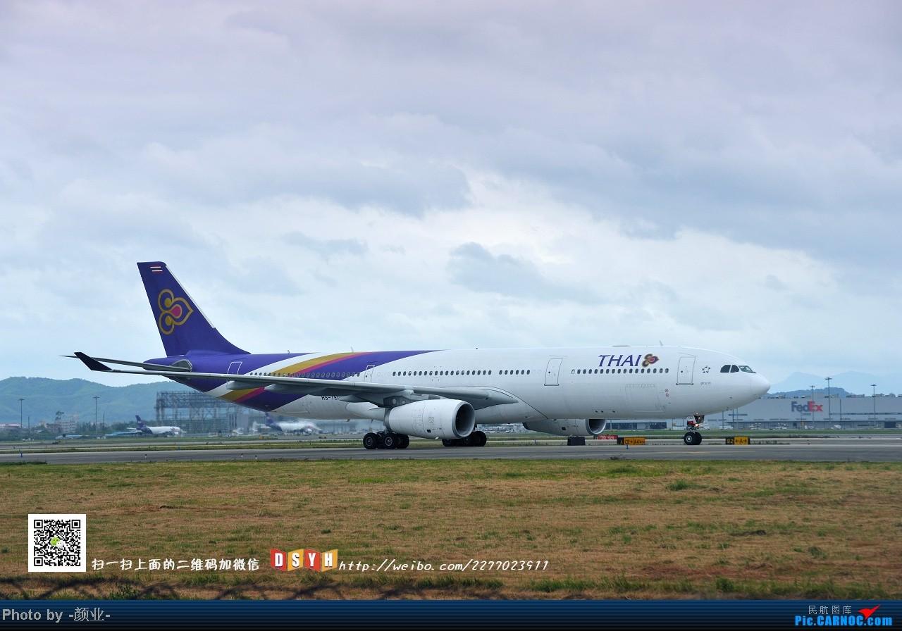 Re:[原创]我的打灰机心情[广州] AIRBUS A330-200 HS-TEO 中国广州白云机场