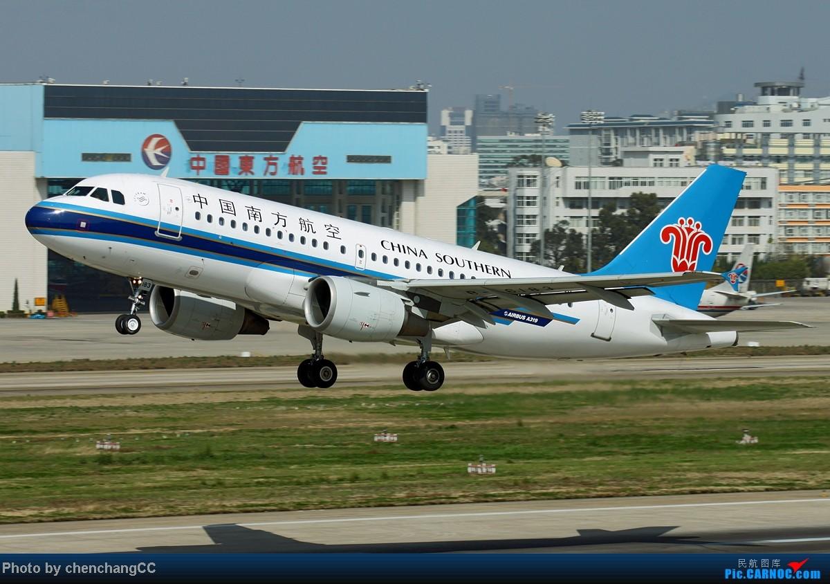 Re:[原创]【chenchangCC】国庆在家当然要发图了,祝全国飞友国庆快乐! AIRBUS A319-100 B-6183 中国昆明巫家坝机场