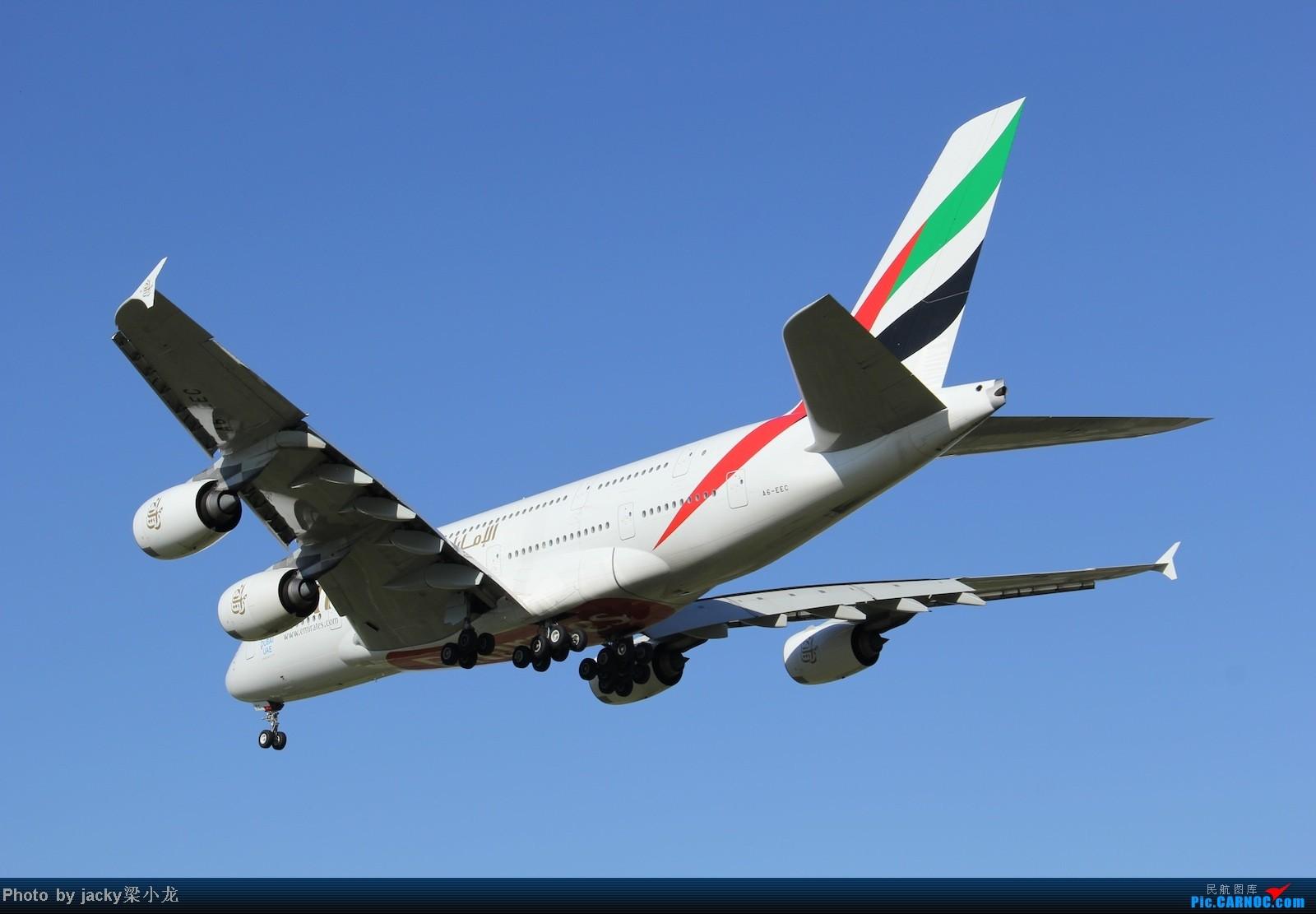 Re:[原创]帝都01跑道宽体一组 AIRBUS A380 A6-EEC 中国北京首都机场