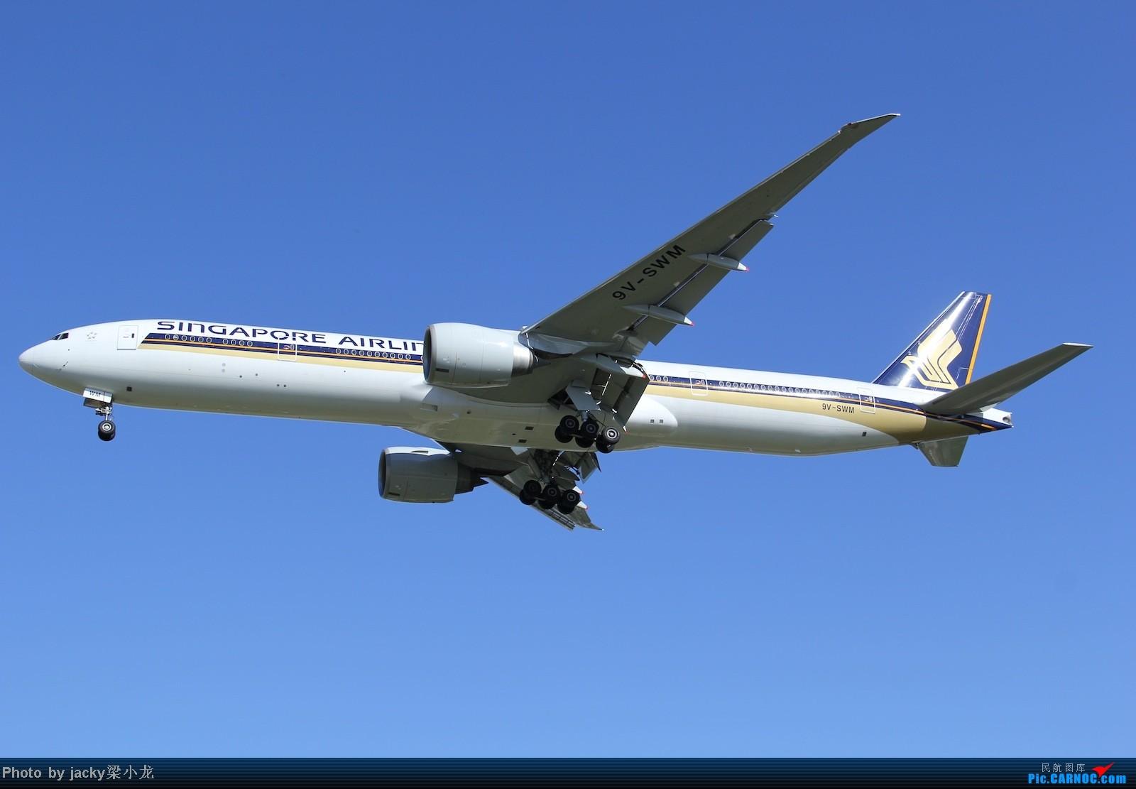 Re:[原创]帝都01跑道宽体一组 BOEING 777-300 9V-SWM 中国北京首都机场