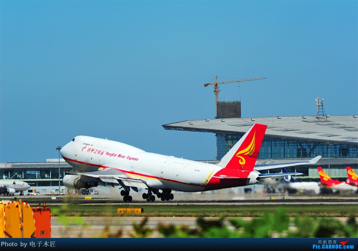 [原创]10.2来TSN的一群马甲。。。 BOEING 747-400 B-2437 中国天津滨海机场