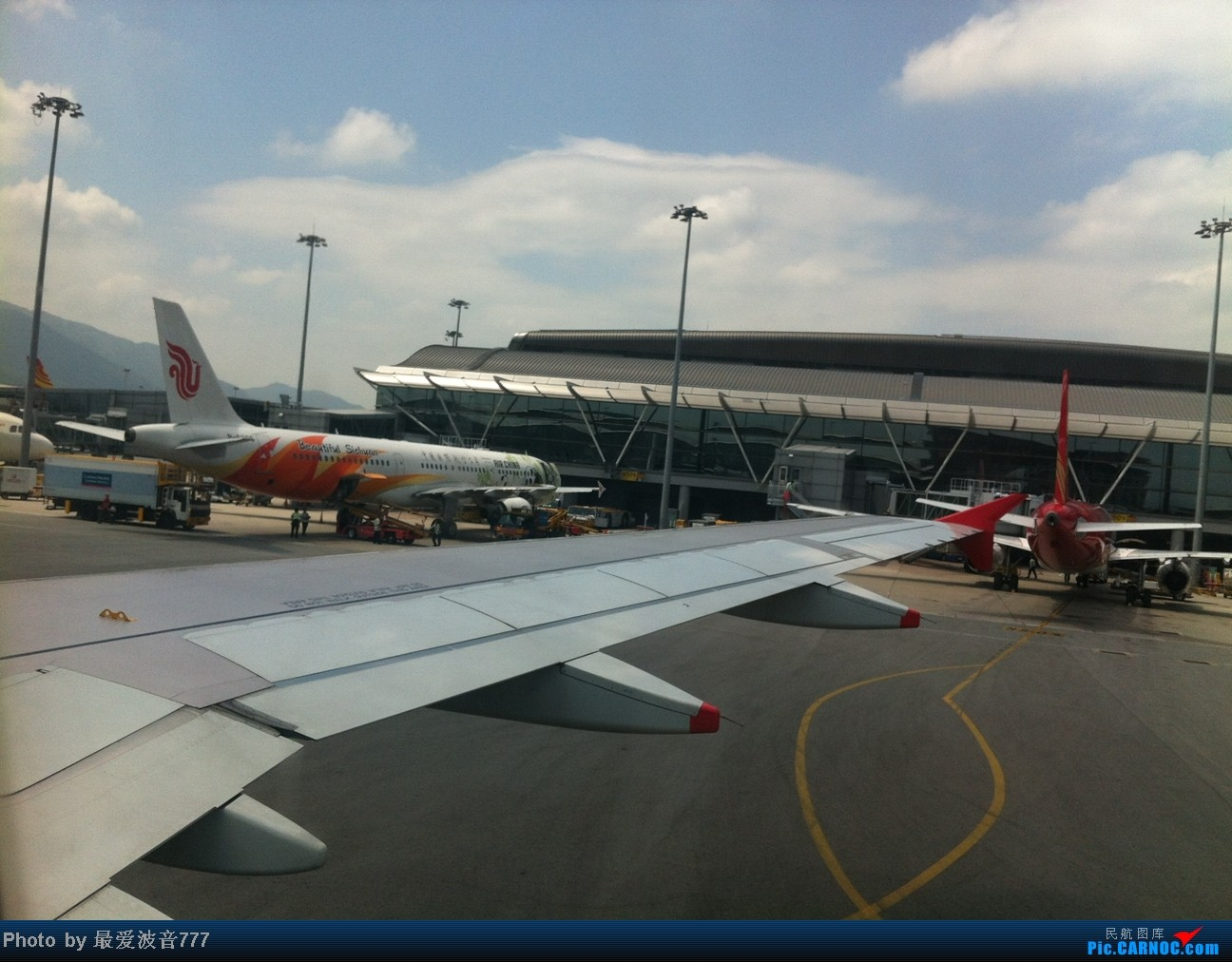 Re:[原创]假期的回国往返之旅 LHR-HKG-CTU-HKG-LHR, CX+CA+KA联合运营 AIRBUS A321-200 B-6365 中国香港赤鱲角国际机场