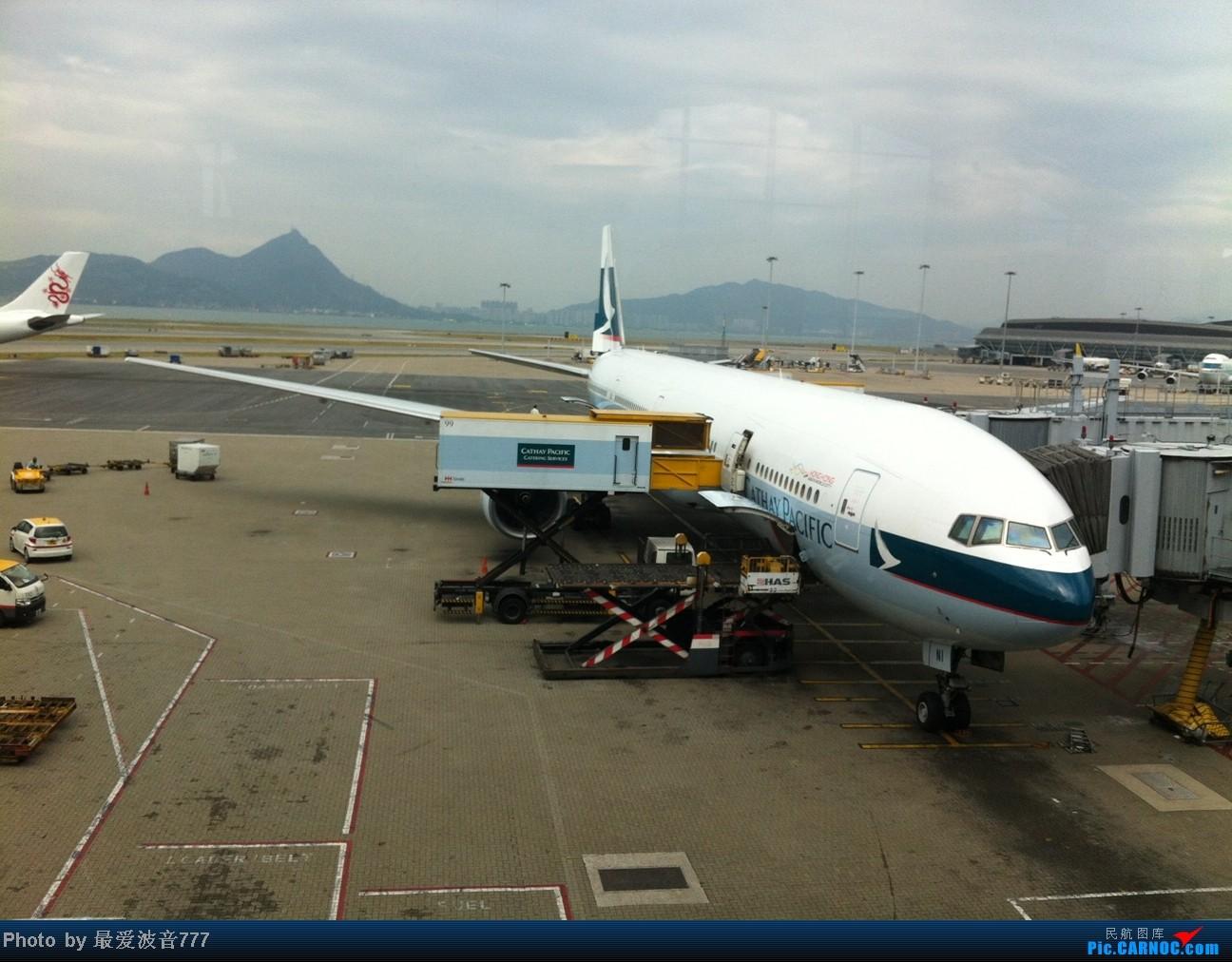 Re:[原创]假期的回国往返之旅 LHR-HKG-CTU-HKG-LHR, CX+CA+KA联合运营 BOEING 777-300 B-HNI 中国香港赤鱲角国际机场