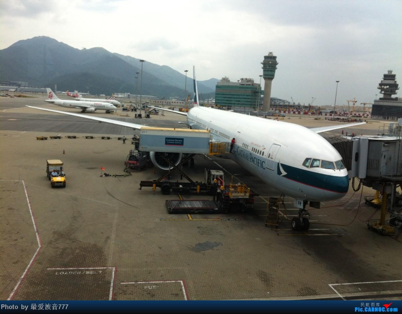 Re:[原创]假期的回国往返之旅 LHR-HKG-CTU-HKG-LHR, CX+CA+KA联合运营 BOEING 777-300ER B-KPM 中国香港赤鱲角国际机场