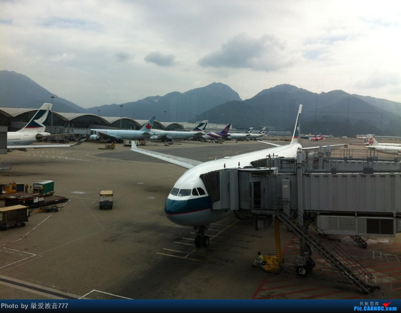 Re:[原创]假期的回国往返之旅 LHR-HKG-CTU-HKG-LHR, CX+CA+KA联合运营 AIRBUS A330-300 B-HLO 中国香港赤鱲角国际机场