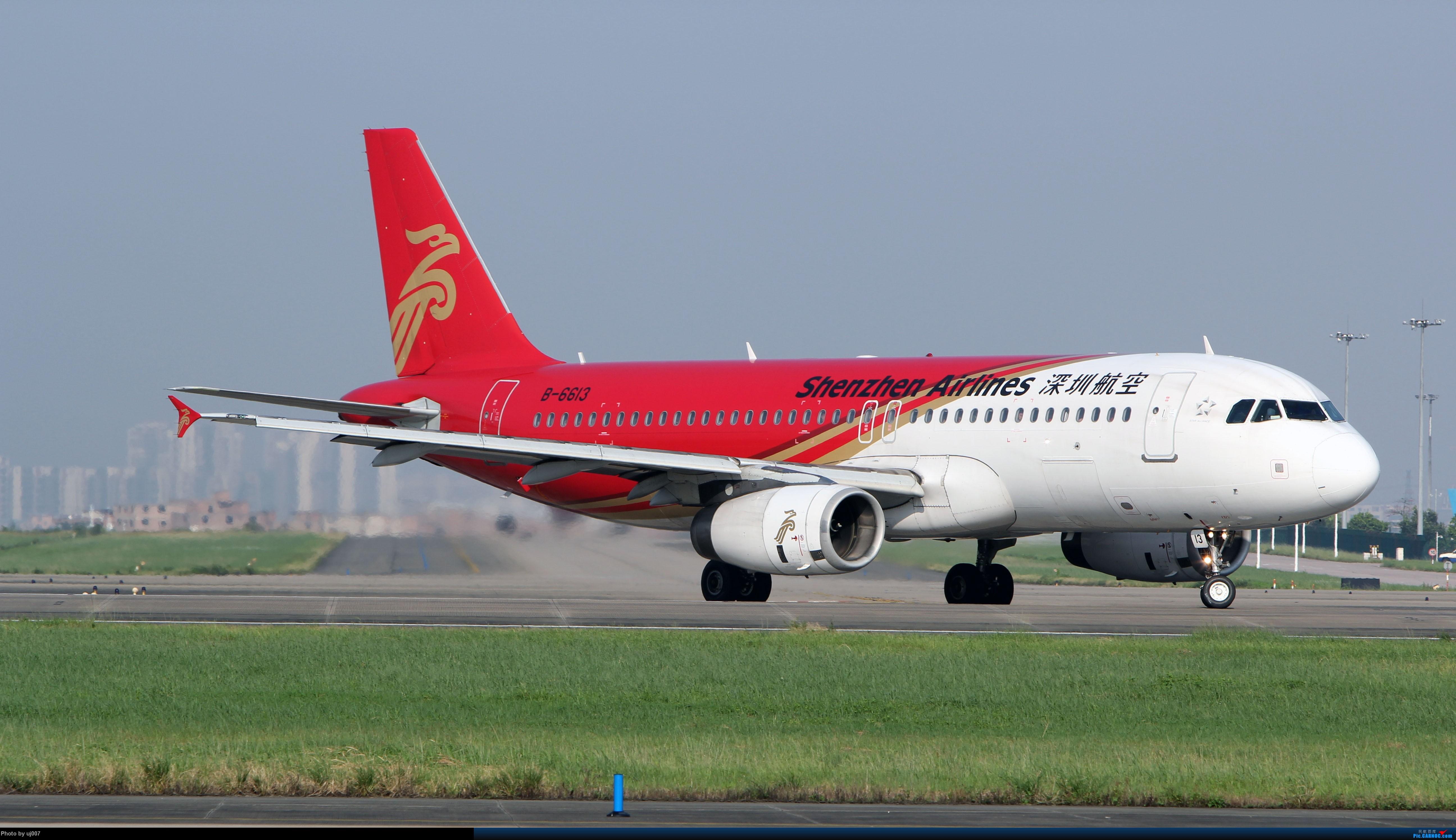 Re:[原创]10月2日白云拍机(大飞机,特别妆,外航,闪灯,擦烟)求指点. AIRBUS A320-200 B-6613 广州白云国际机场