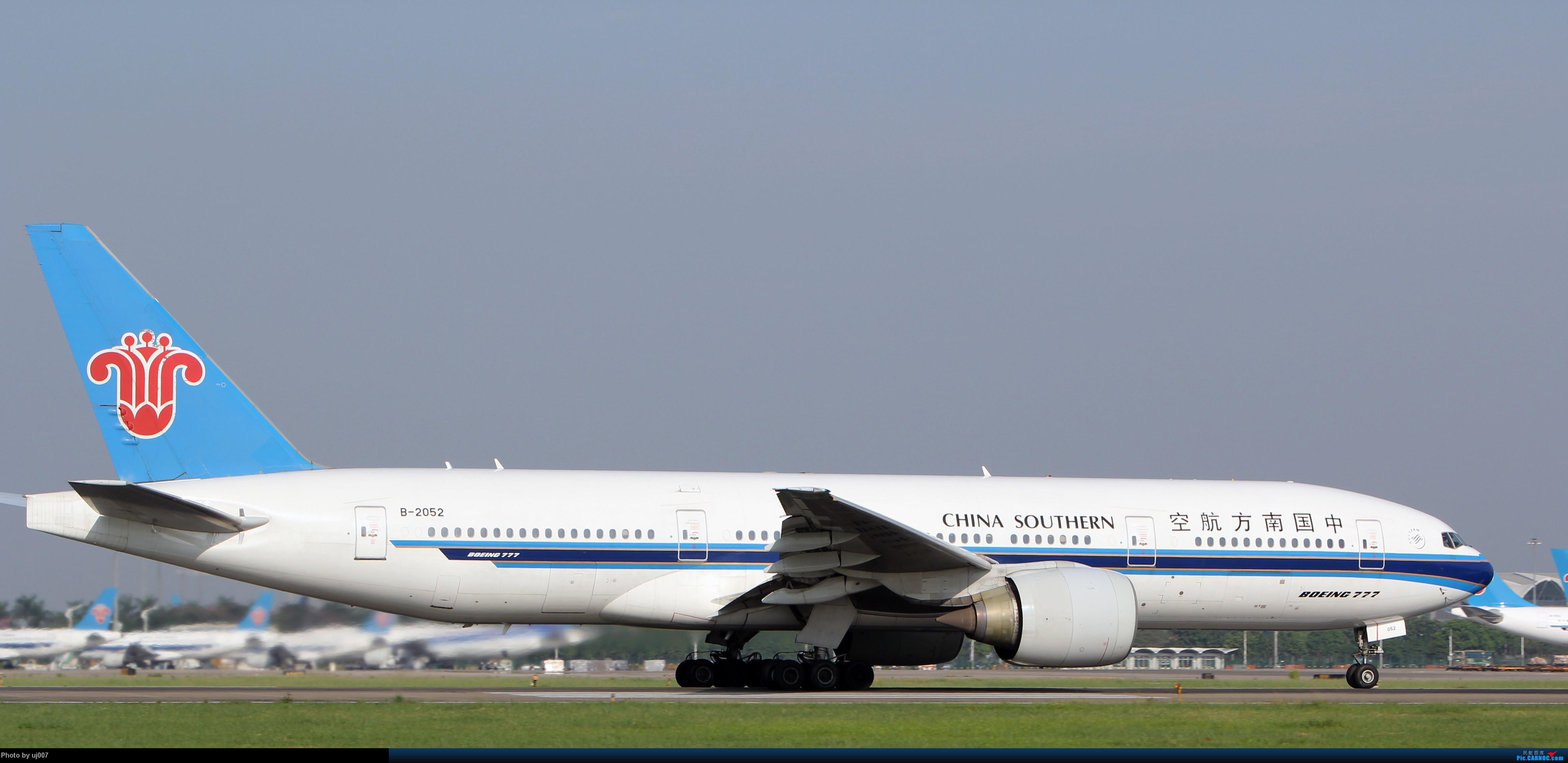Re:[原创]10月2日白云拍机(大飞机,特别妆,外航,闪灯,擦烟)求指点. BOEING 777-200 B-2052 广州白云国际机场