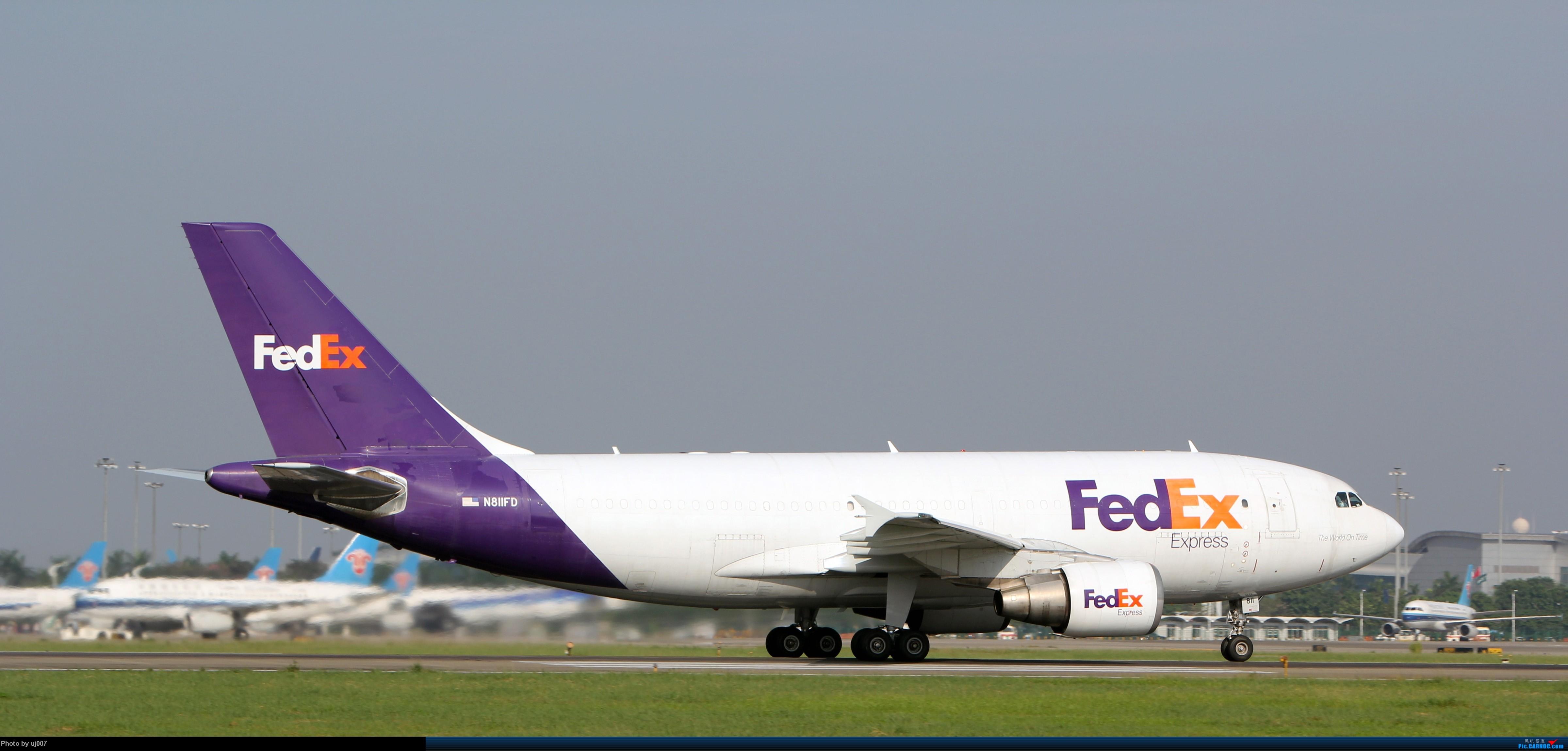 Re:[原创]10月2日白云拍机(大飞机,特别妆,外航,闪灯,擦烟)求指点. AIRBUS A310-300 N811FD 广州白云国际机场