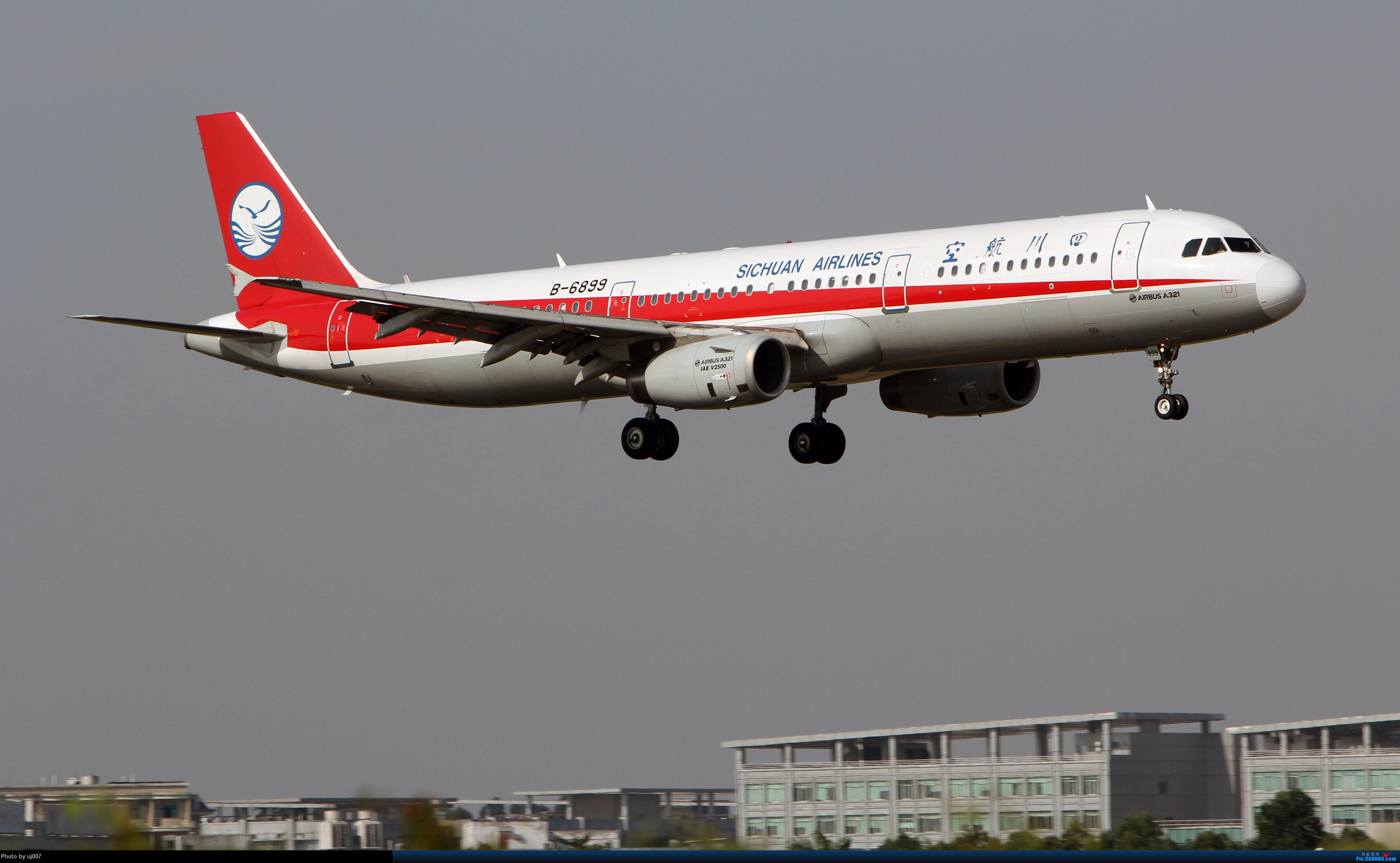 Re:[原创]10月2日白云拍机(大飞机,特别妆,外航,闪灯,擦烟)求指点. AIRBUS A321-200 B-6899 广州白云国际机场