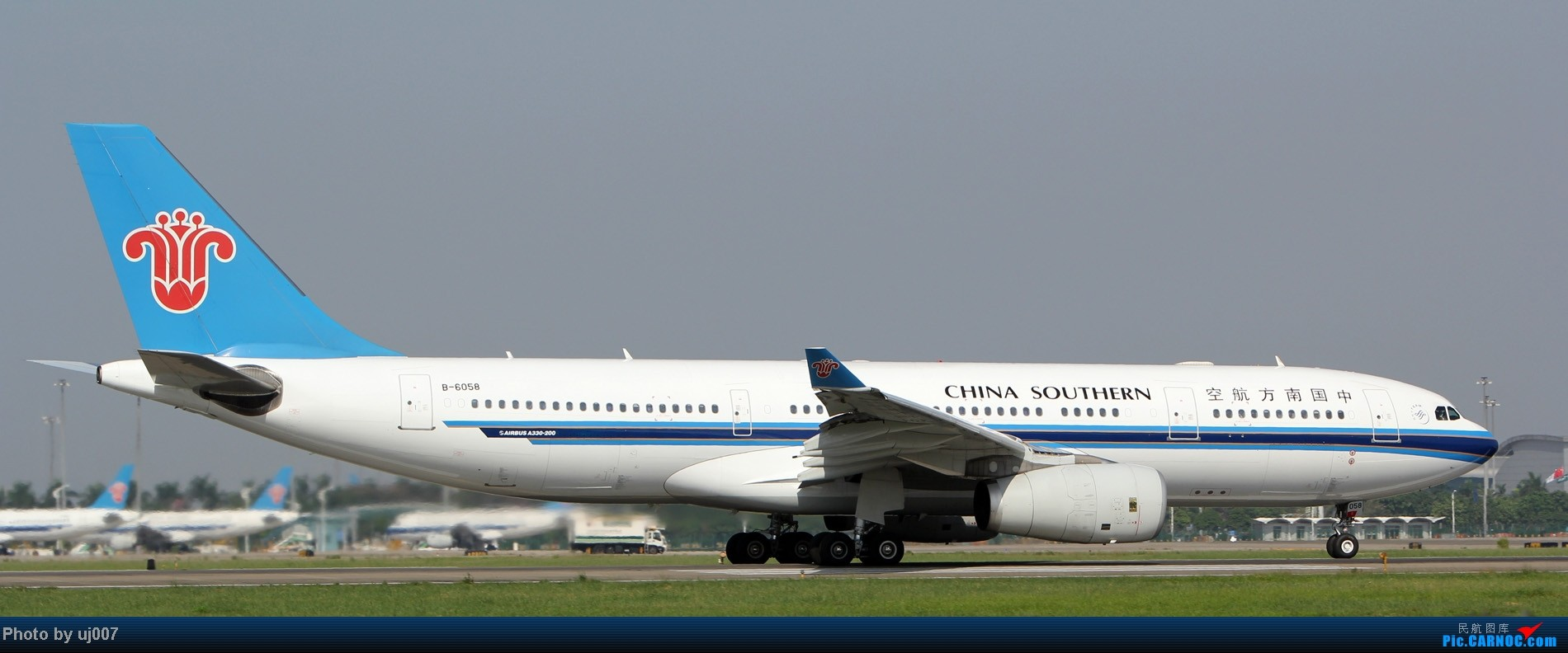 Re:[原创]10月2日白云拍机(大飞机,特别妆,外航,闪灯,擦烟)求指点. AIRBUS A330-200 B-6058 广州白云国际机场