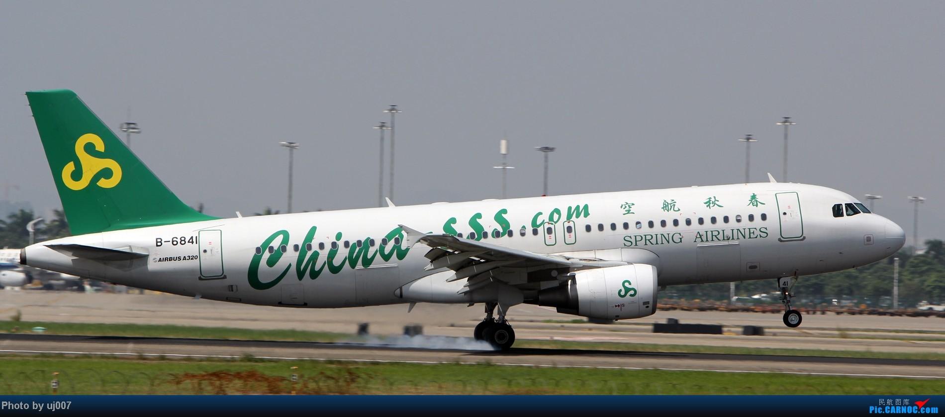 Re:[原创]10月2日白云拍机(大飞机,特别妆,外航,闪灯,擦烟)求指点. AIRBUS A320-200 B-6841 中国广州白云机场