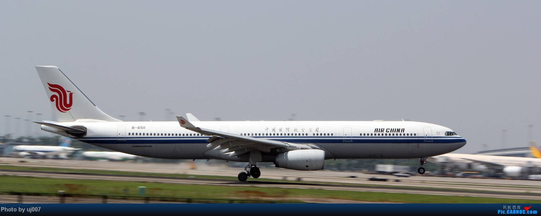 Re:[原创]10月2日白云拍机(大飞机,特别妆,外航,闪灯,擦烟)求指点. AIRBUS A330-300 B-6511 中国广州白云机场