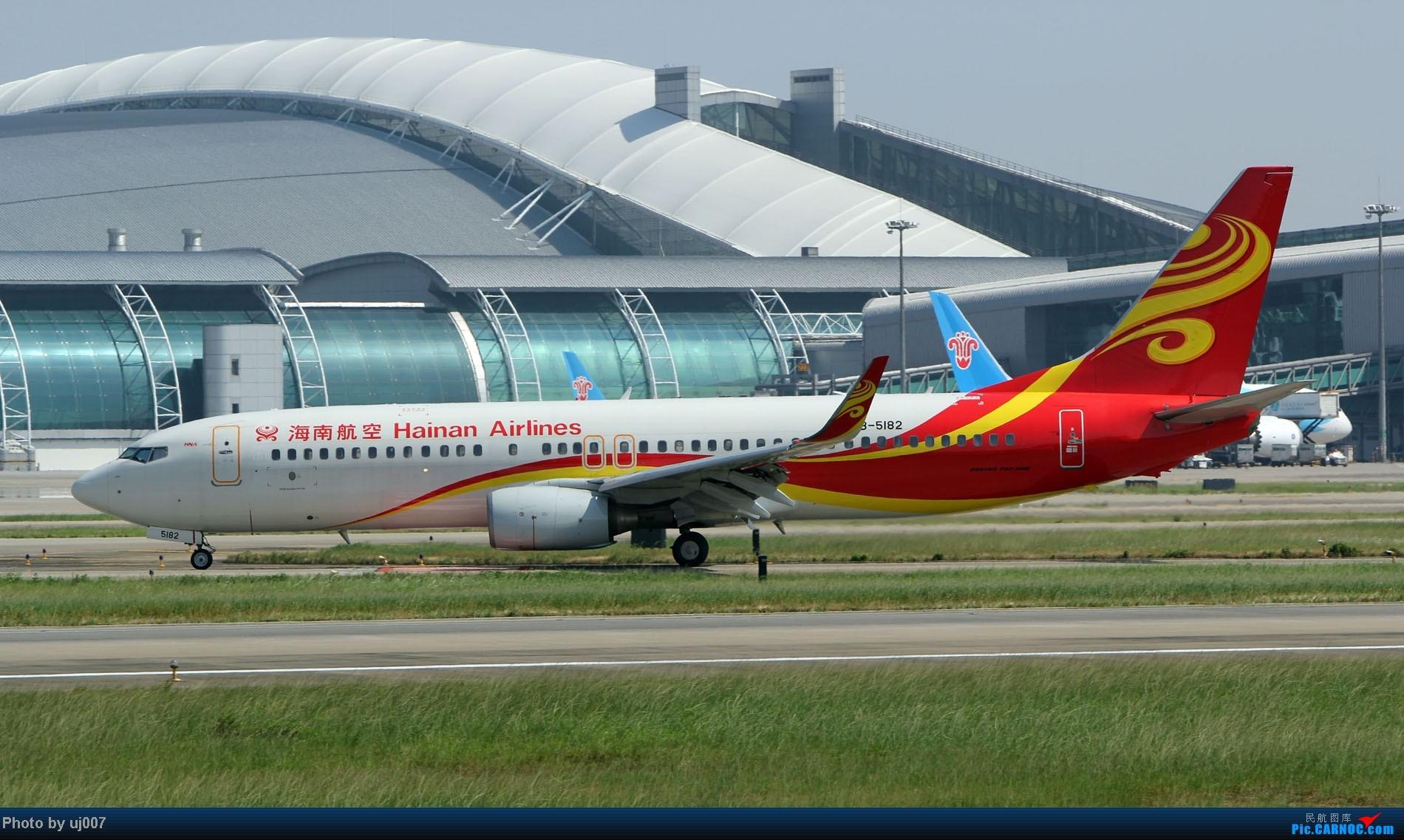 Re:[原创]10月2日白云拍机(大飞机,特别妆,外航,闪灯,擦烟)求指点. BOEING 737-800 B-5182 中国广州白云机场
