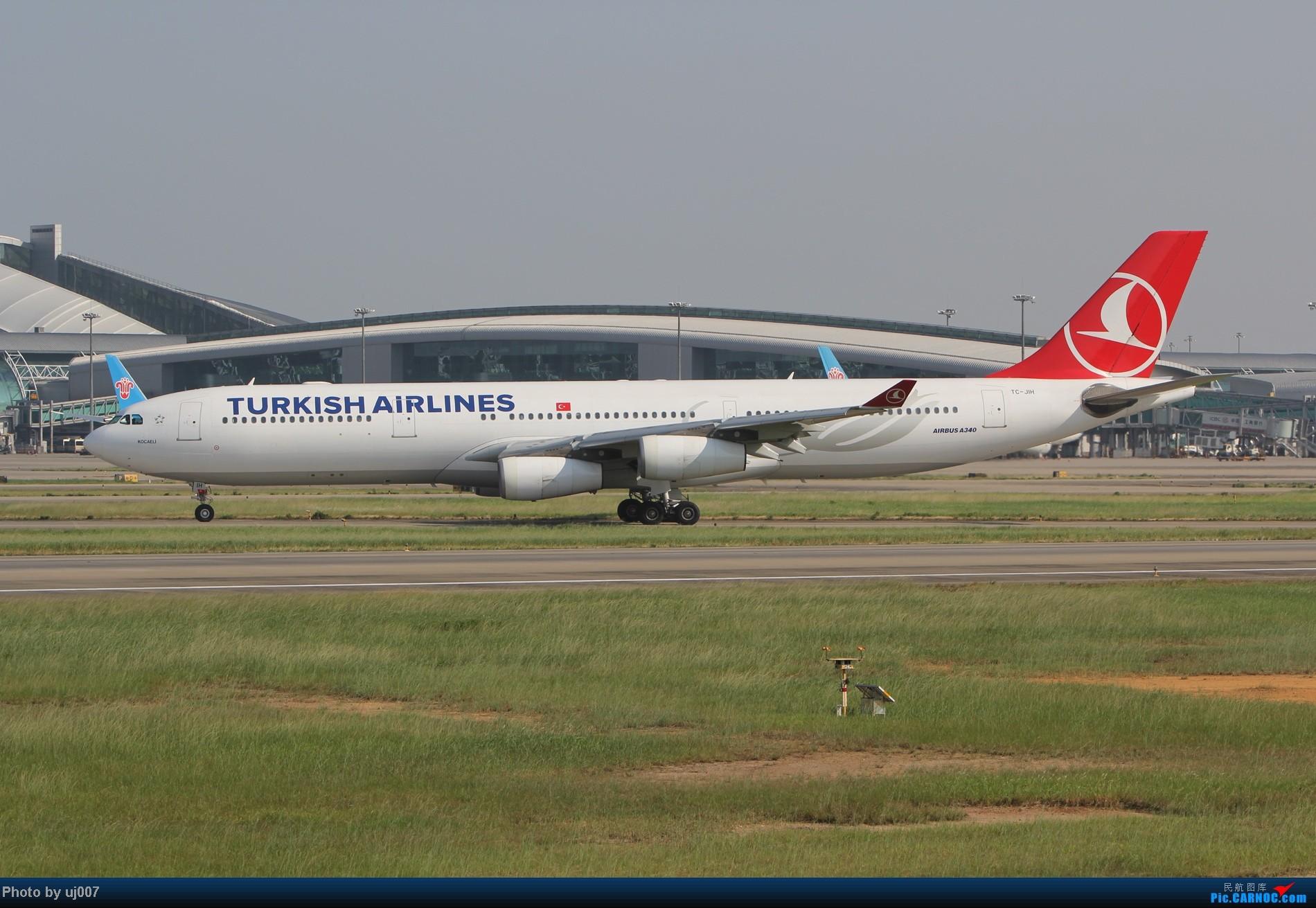 Re:[原创]10月2日白云拍机,超级多图系列(大飞机,特别妆,外航,闪灯,擦烟)求指点. AIRBUS A340-300 TC-JIH 中国广州白云机场