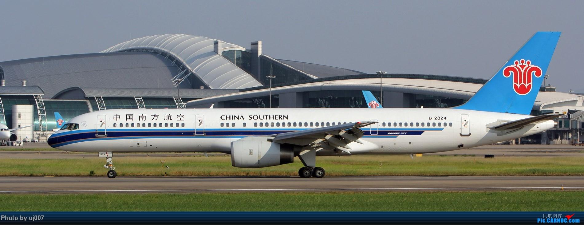 Re:[原创]10月2日白云拍机,超级多图系列(大飞机,特别妆,外航,闪灯,擦烟)求指点. BOEING 757-200 B-2824 中国广州白云机场