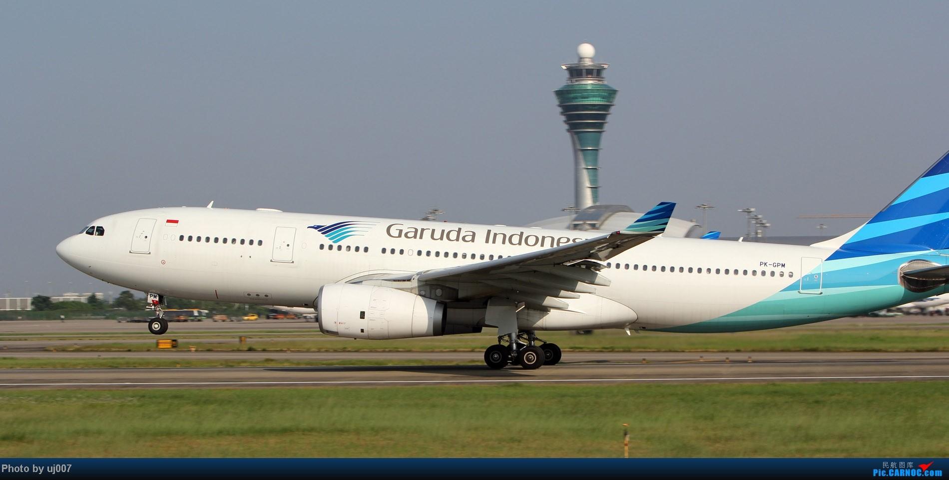 Re:[原创]10月2日白云拍机,超级多图系列(大飞机,特别妆,外航,闪灯,擦烟)求指点. AIRBUS A330-200 PK-GPM 中国广州白云机场