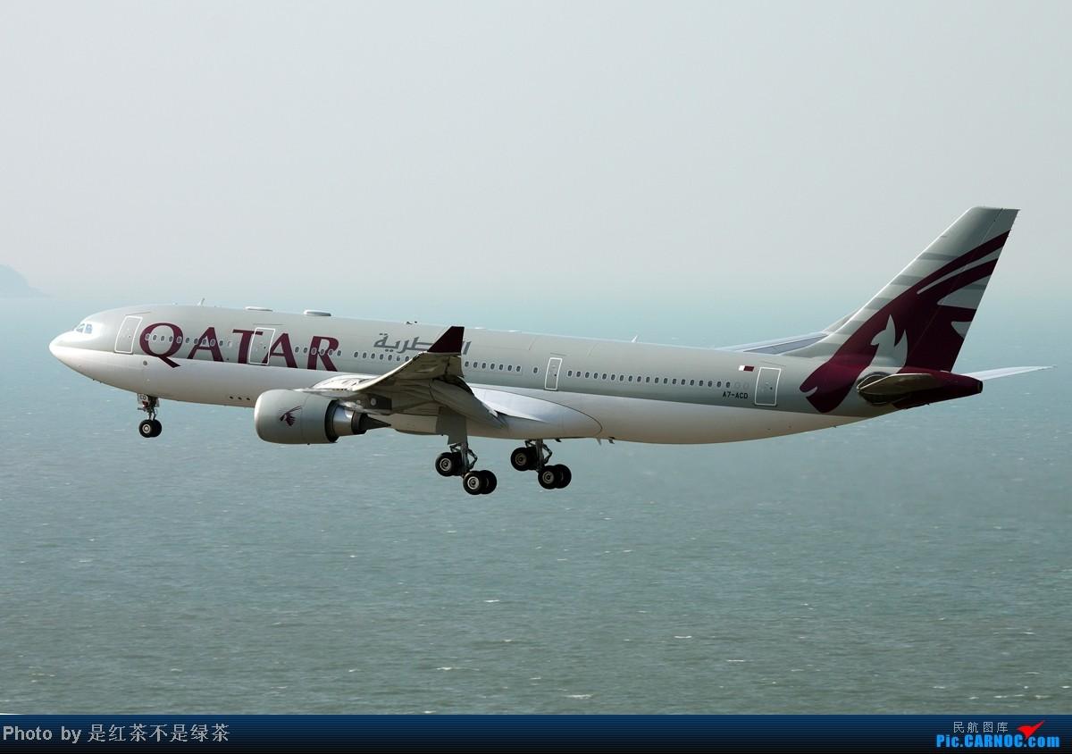 Re:[原创]【红茶拍机】香港拍机行第一日(10月6日),HKG果然是拍机胜地,如果天气给力就更好了,先上几张图。 AIRBUS A330-200 A7-ACD 中国香港赤鱲角国际机场