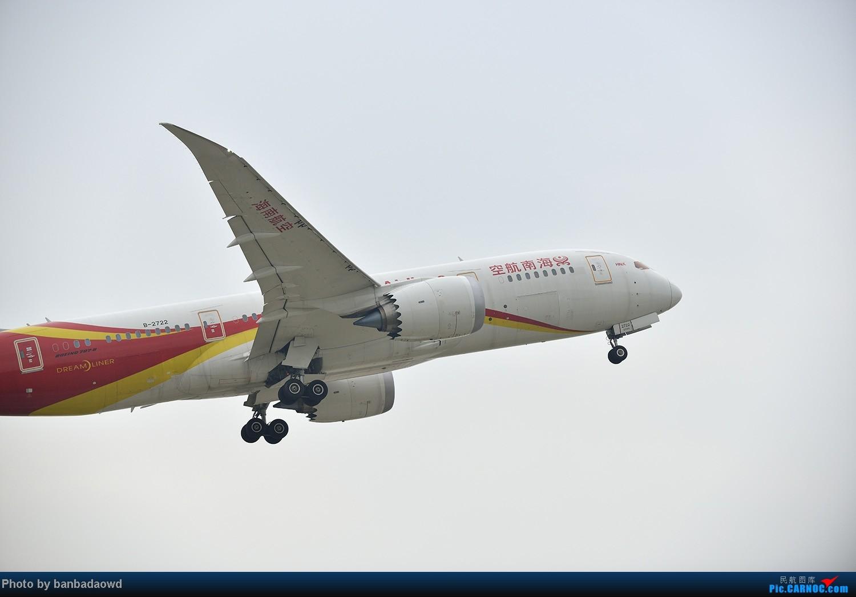 Re:[原创]台风前杭州机场拍得海航787 BOEING 787 B-2722