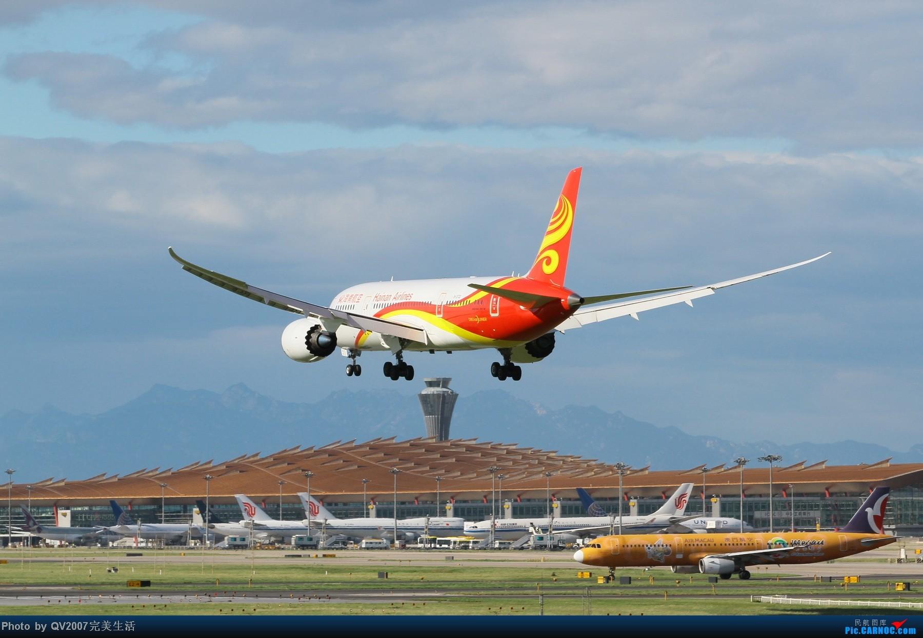 [原创]海航787 BOEING 787 B-2722 中国北京首都机场