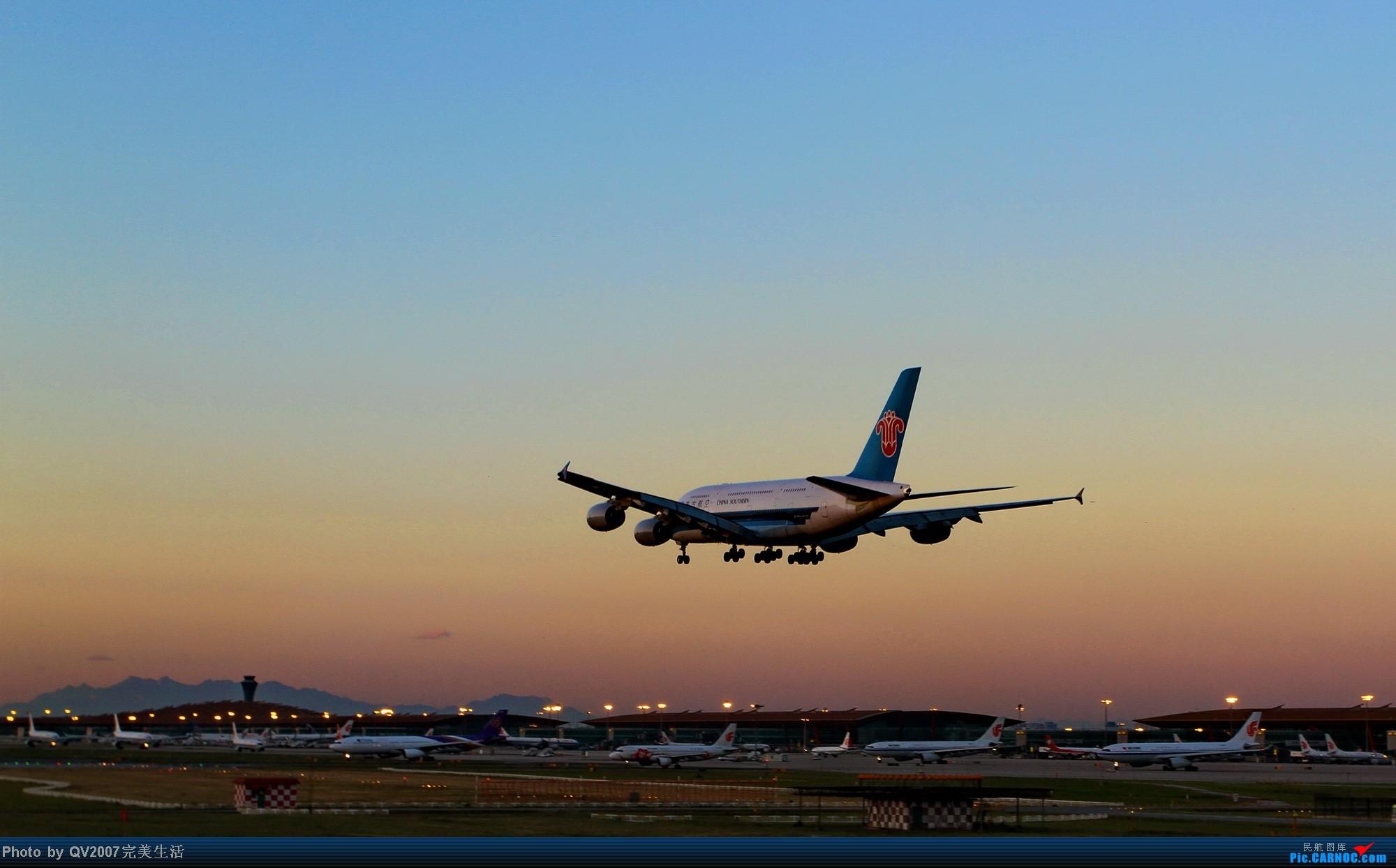 [原创]南航的A380大胖子 AIRBUS A380 B-6140 中国北京首都机场