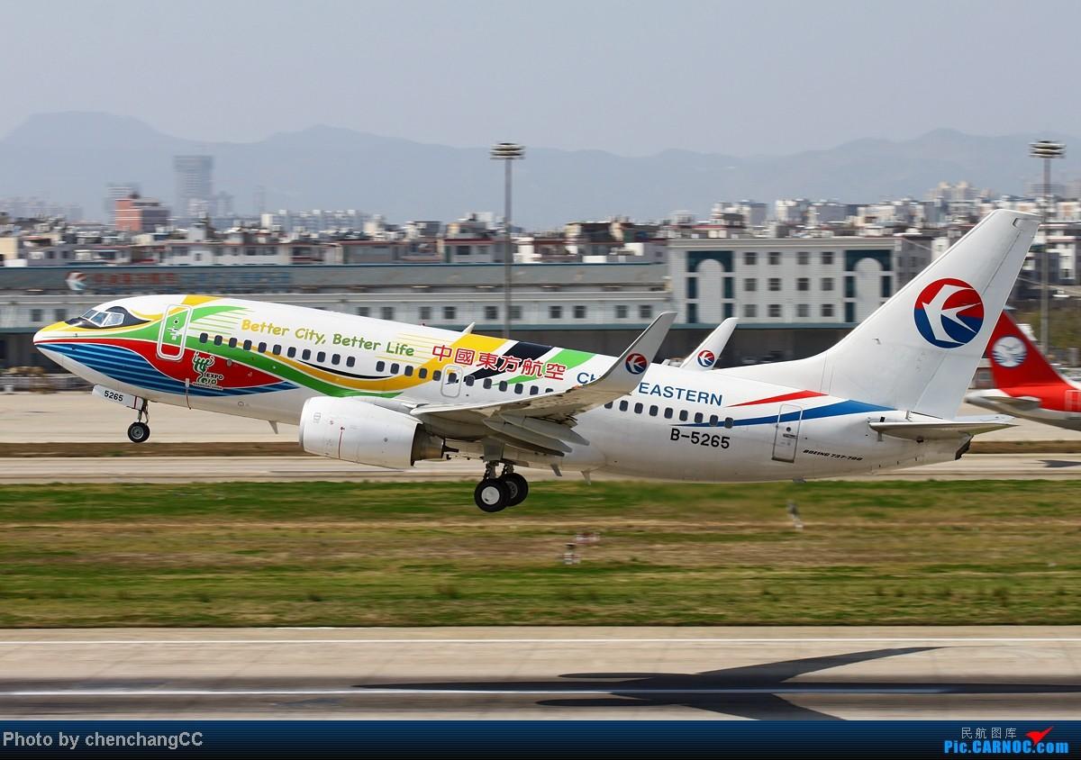 Re:[原创]【chenchangCC】发组图,那些年的彩绘! BOEING 737-700 B-5265 中国昆明巫家坝机场