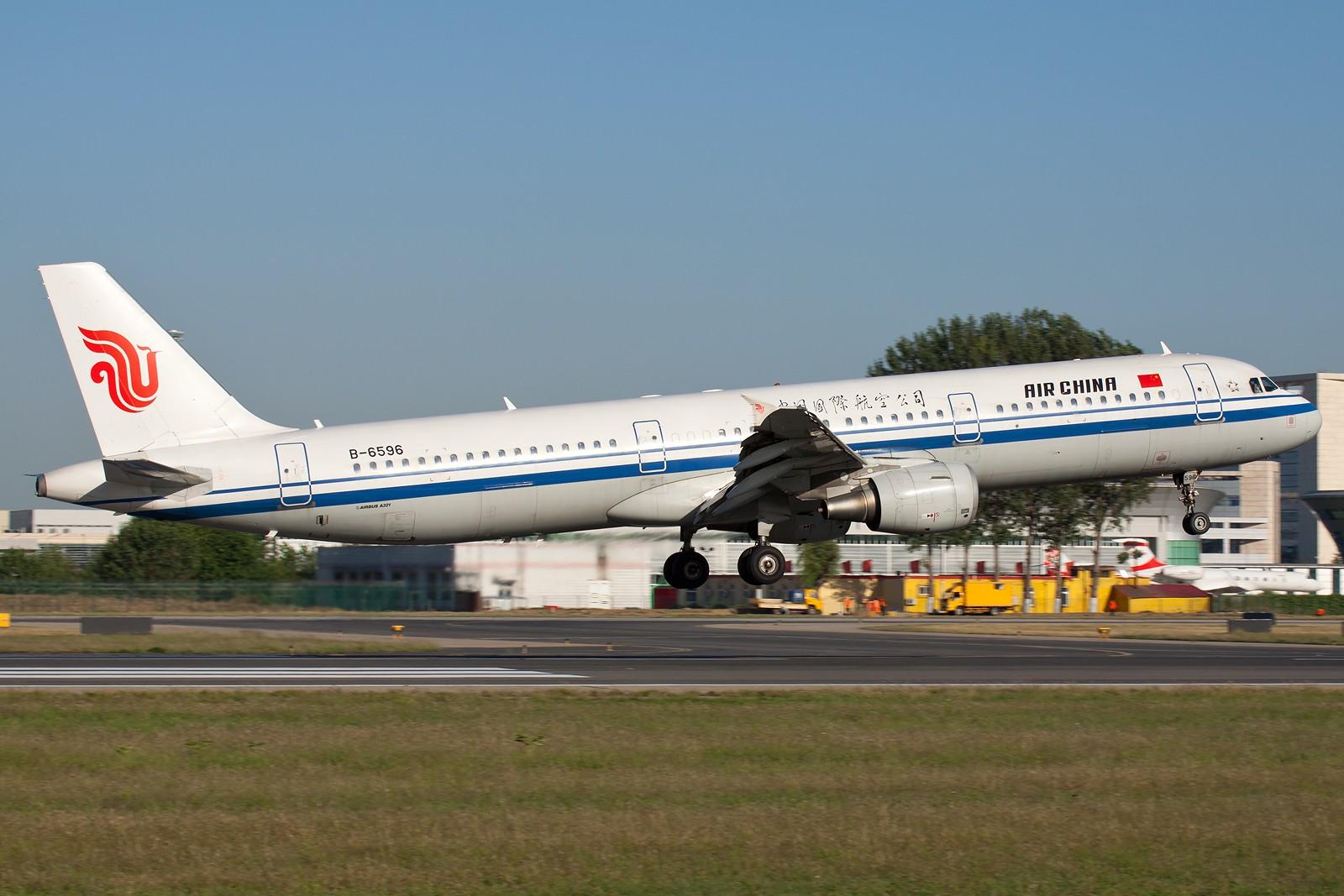 Re:[原创]国航一组 B737&A320系列 [10pics] AIRBUS A321-200 B-6596 中国北京首都机场