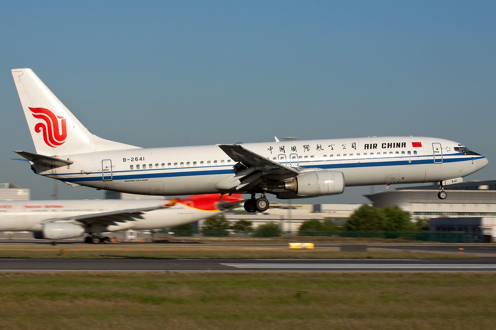 Re:[原创]国航一组 B737&A320系列 [10pics] BOEING 737-800 B-2641 中国北京首都机场